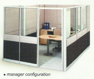 Partisi Kantor Uno Manager 2