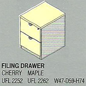 filling cabinet 2 laci uno platinum series