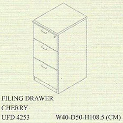 filling cabinet 3 laci uno gold series