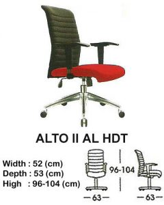 Kursi Indachi Alto II AL HDT