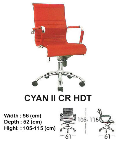 kursi director & manager indachi cyan II cr hdt