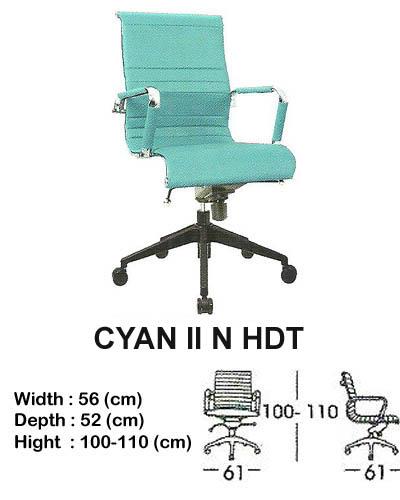 kursi director & manager indachi cyan II n hdt