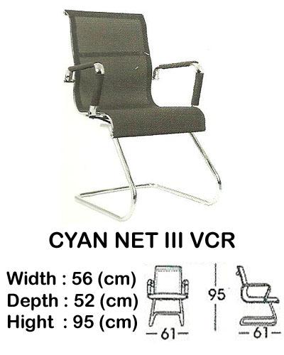 kursi director & manager indachi cyan net III vcr