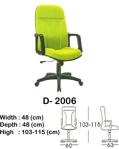kursi director & manager indachi d- 2006