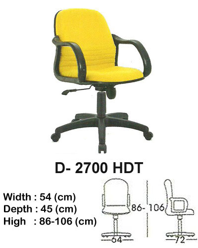 kursi director & manager indachi d- 2700 hdt