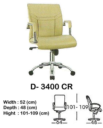 kursi director & manager indachi d- 3400 cr
