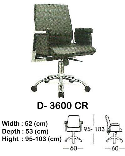 kursi director & manager indachi d- 3600 cr