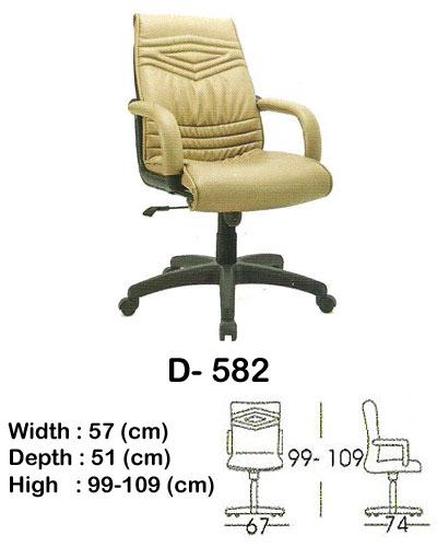 kursi director & manager indachi d- 582