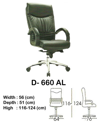 kursi director & manager indachi d- 660 al