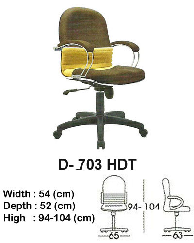kursi director & manager indachi d- 703 hdt