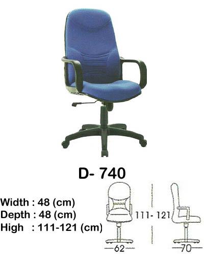 kursi director & manager indachi d- 740