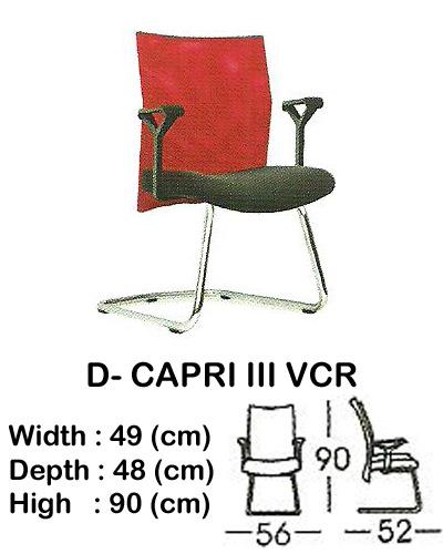 kursi director & manager indachi d- capri III vcr