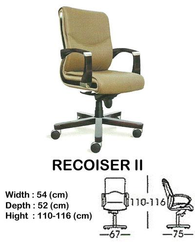 kursi director & manager indachi recoiser II