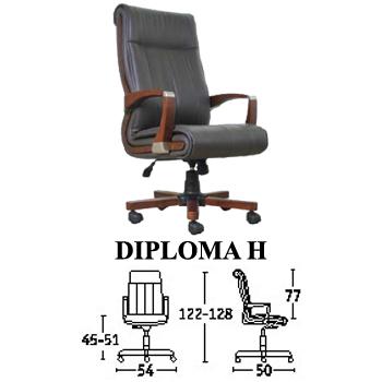 kursi direktur & manager savello type diploma h