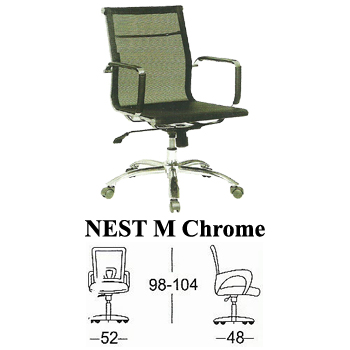 kursi direktur & manager subaru type nest m chrome