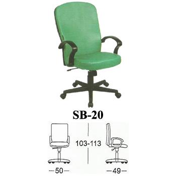 kursi direktur & manager subaru type sb-20