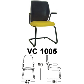 kursi hadap & rapat chairman type vc 1005