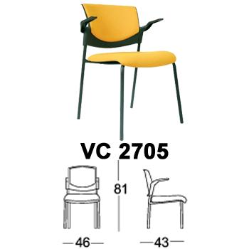 kursi hadap & rapat chairman type vc 2705