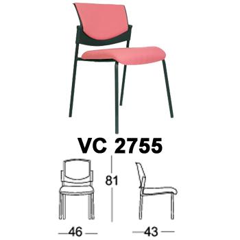 kursi hadap & rapat chairman type vc 2755