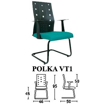 kursi hadap & rapat savello type polka vt1