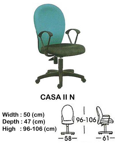 kursi staff & secretary indachi casa II n
