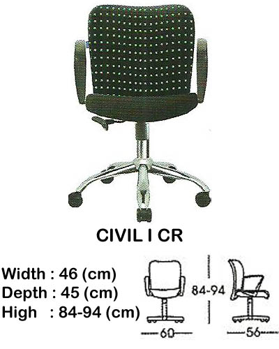 kursi staff & secretary indachi civil I cr