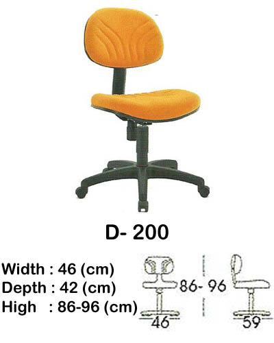 kursi staff & secretary indachi d- 200