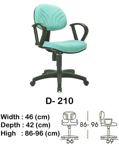 kursi staff & secretary indachi d- 210