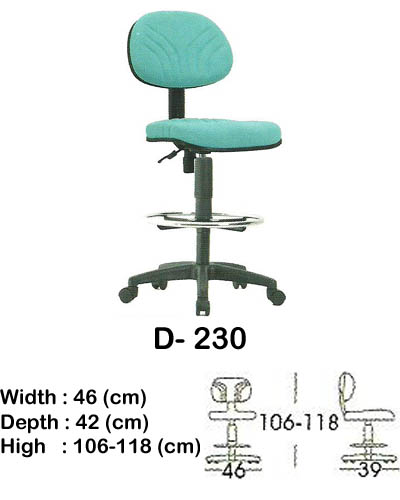 kursi staff & secretary indachi d- 230