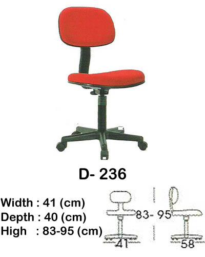kursi staff & secretary indachi d- 236