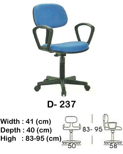 kursi staff & secretary indachi d- 237