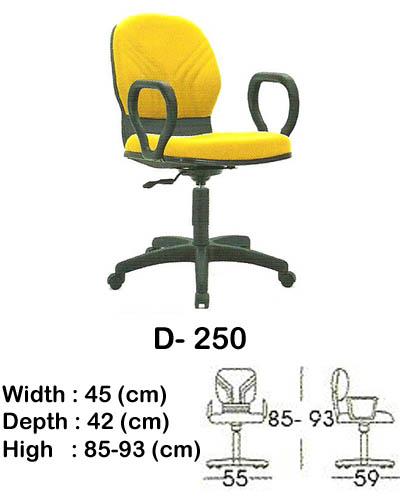 kursi staff & secretary indachi d- 250