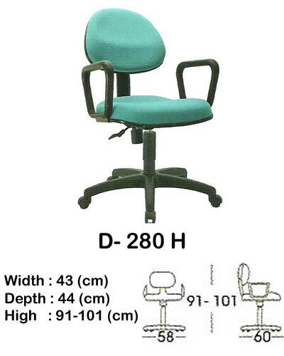 kursi staff & secretary indachi d- 280 h
