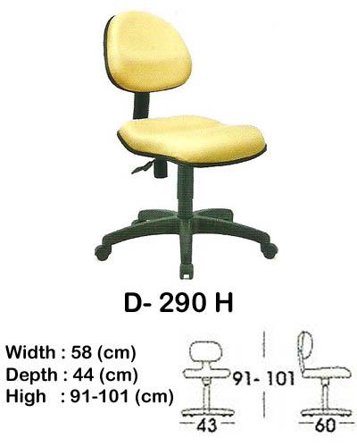 kursi staff & secretary indachi d- 290 h