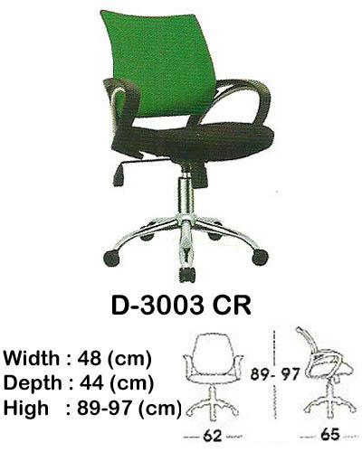 kursi staff & secretary indachi d-3003 cr