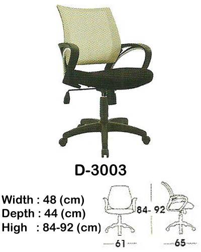 kursi staff & secretary indachi d-3003