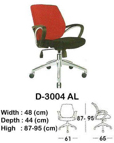 kursi staff & secretary indachi d-3004 al