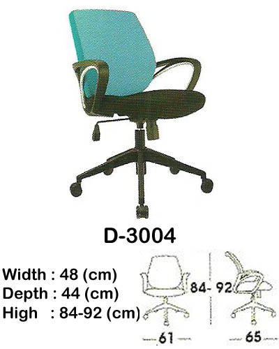 kursi staff & secretary indachi d-3004