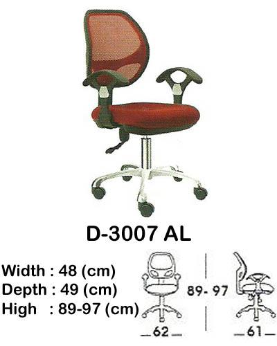 kursi staff & secretary indachi d-3007 al