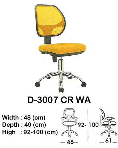 kursi staff & secretary indachi d-3007 cr wa