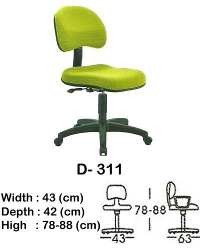 kursi staff & secretary indachi d- 311