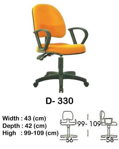 kursi staff & secretary indachi d- 330