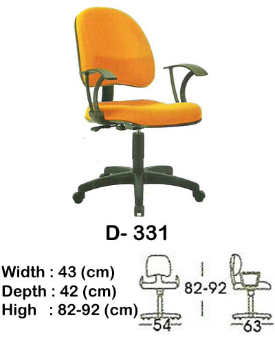 kursi staff & secretary indachi d- 331