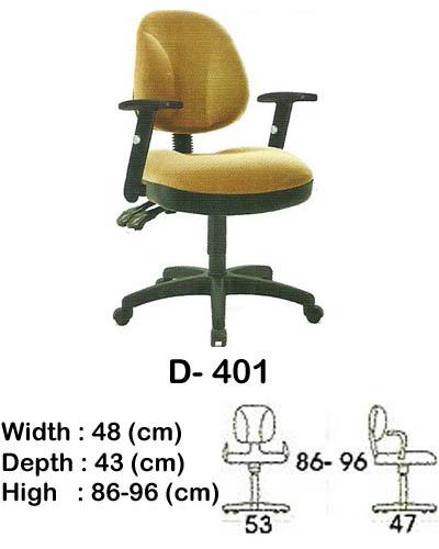 kursi staff & secretary indachi d- 401