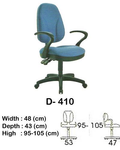 kursi staff & secretary indachi d- 410