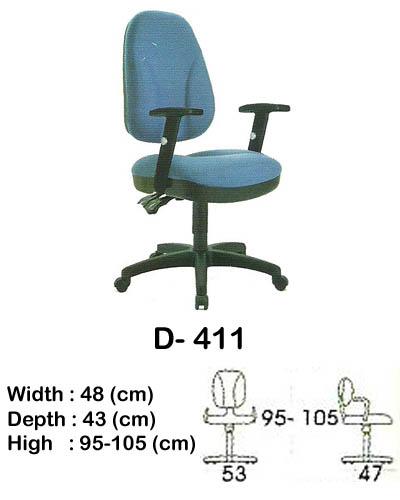 kursi staff & secretary indachi d- 411