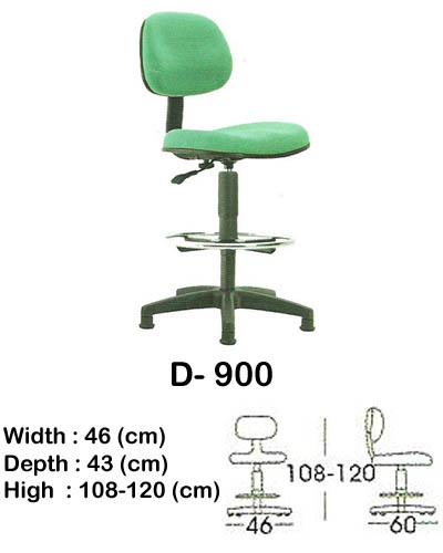 kursi staff & secretary indachi d- 900