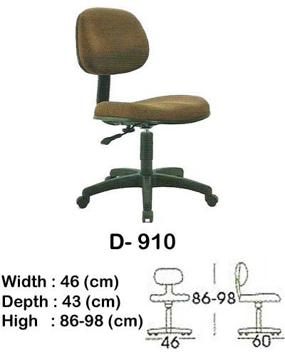 kursi staff & secretary indachi d- 910