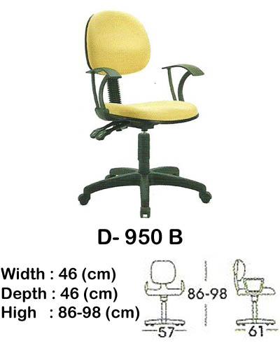 kursi staff & secretary indachi d- 950 b
