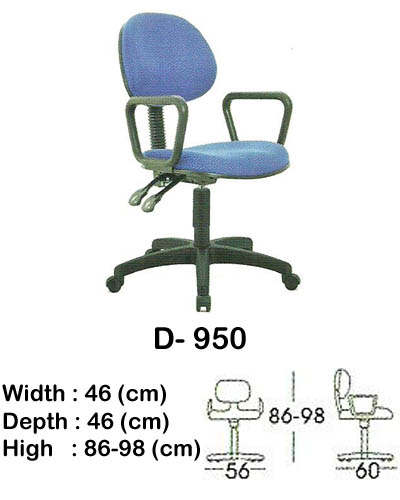kursi staff & secretary indachi d- 950